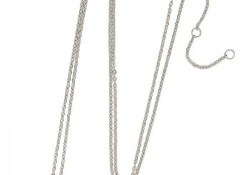 Necklace coin O -silver-