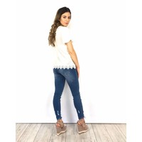 Jeans skinny crop 9201