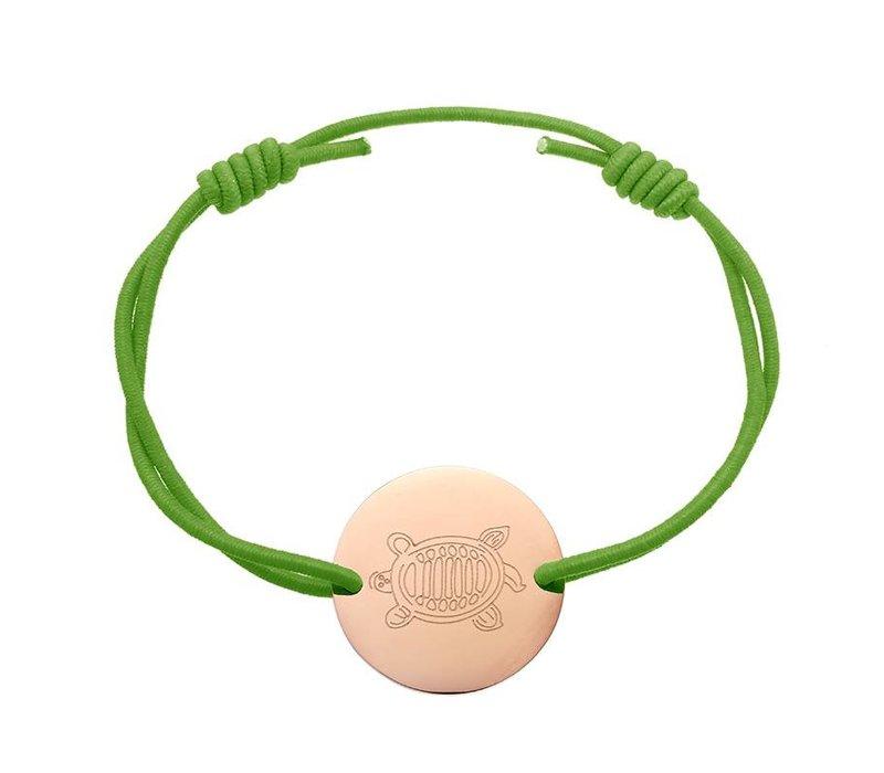 Armband sea turtle green