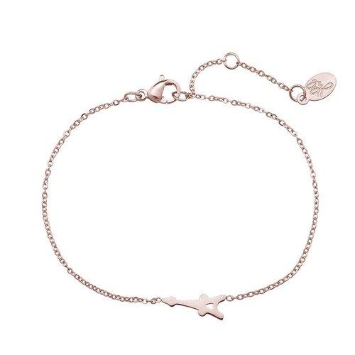 Armband Paris rosé