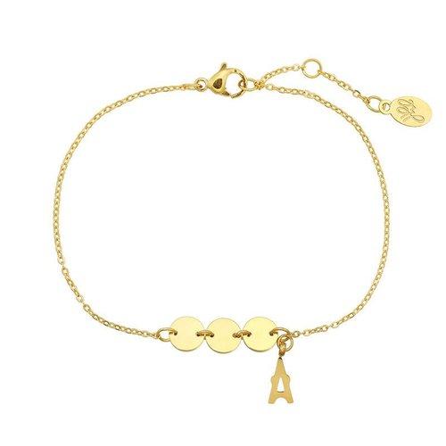 Armband Paris coins gold