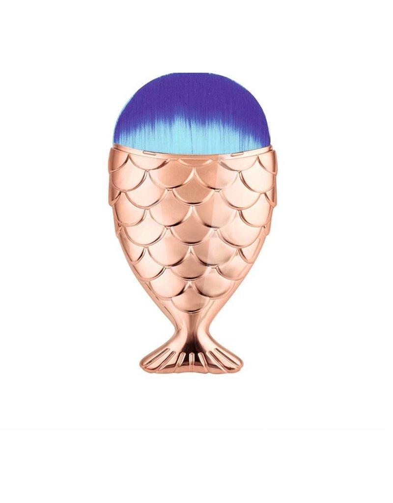 Mermaid makeup brush