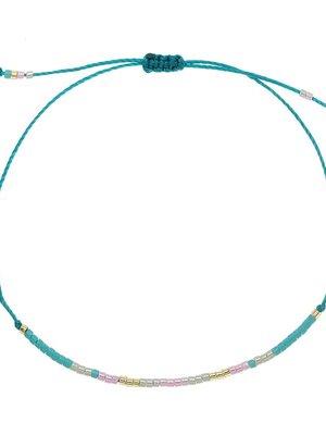 Armband spring beads blue