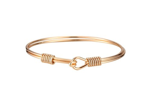Armband closed knot gold