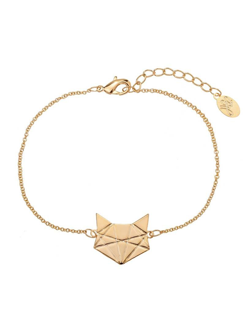 Armband futuristic fox gold