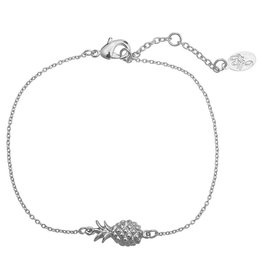 Armband pineapple silver