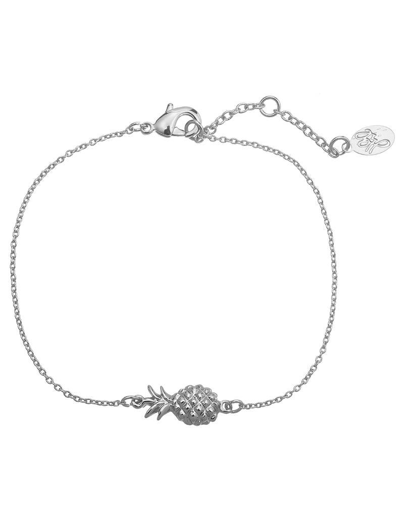 Armband pineapple silver