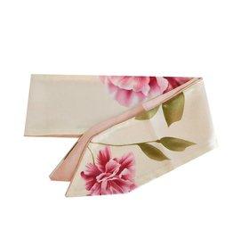 Sjaal lovely flowers pink