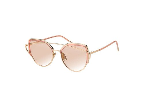 Zonne bril hot shades pink