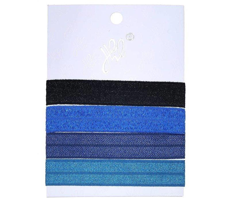 Hairtie earth tone blue