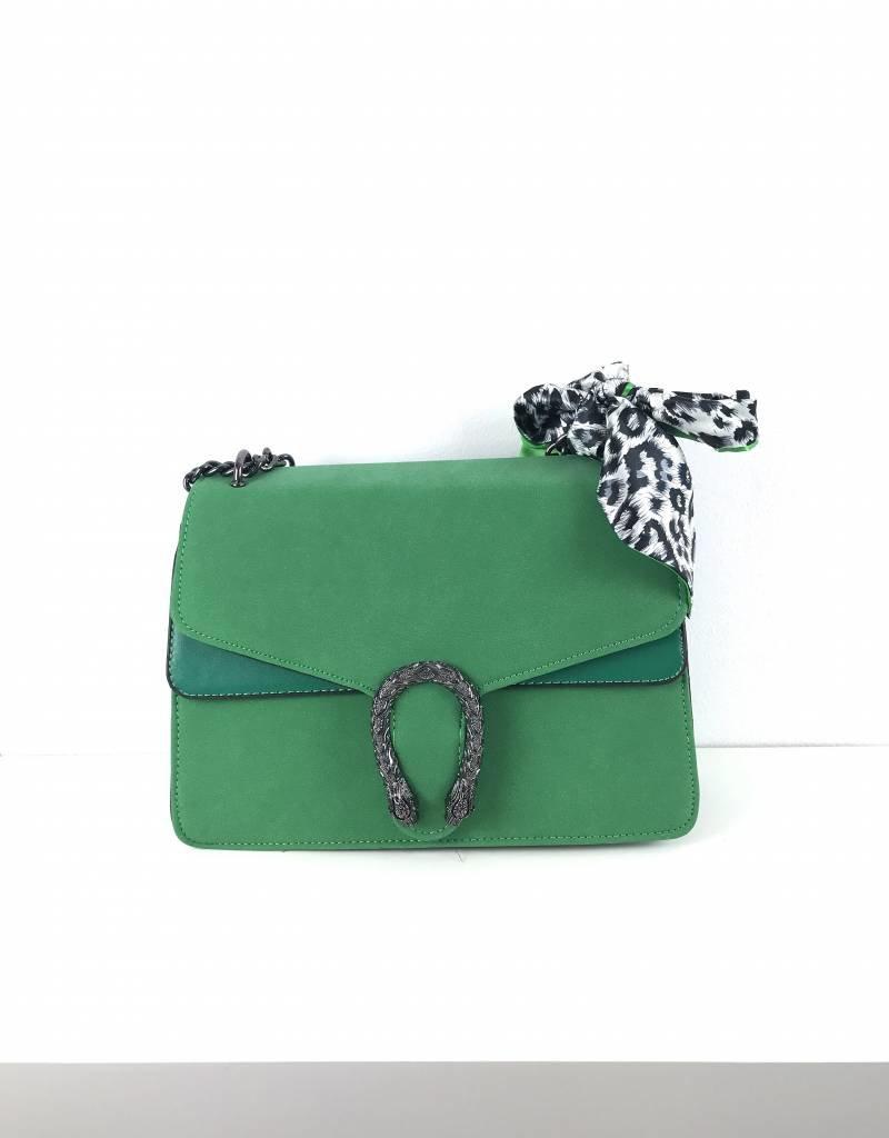 Green lookalike bag snake