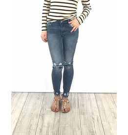 Jeans Super skinny ankle cutoff