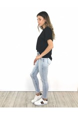 Jeans L/BL super skinny ankle cutoff
