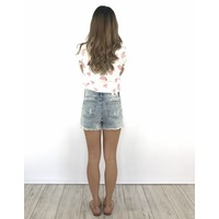 Short pearl jeans