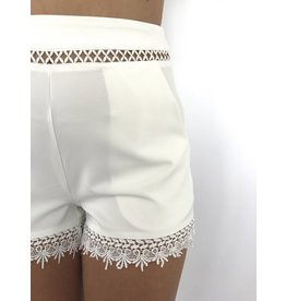 White short lace