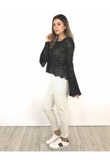 Pantalon WhiteBlack stripes 9538