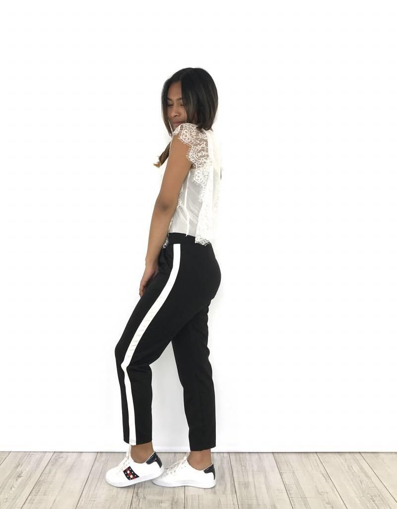White lace shirt E2971