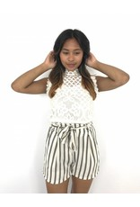 White lace top kraag 8960