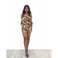 Playsuit colorful flowers
