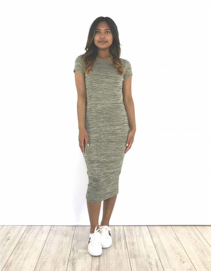 Kaki long dress