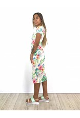 White lotus dress H39-2