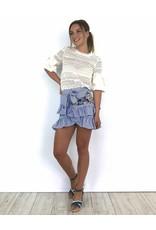 Blue girly skirt 5068