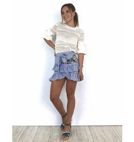 Blue girly skirt