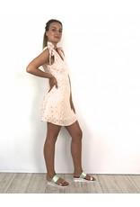 Girly pink dress R220