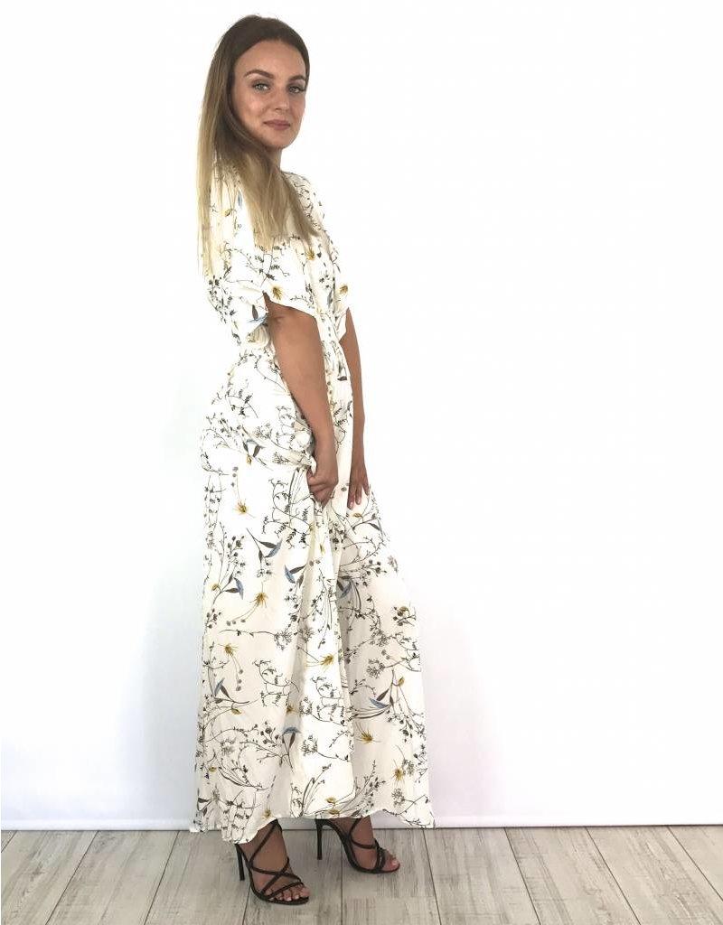 Long white beach dress