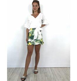 White jungle skirt