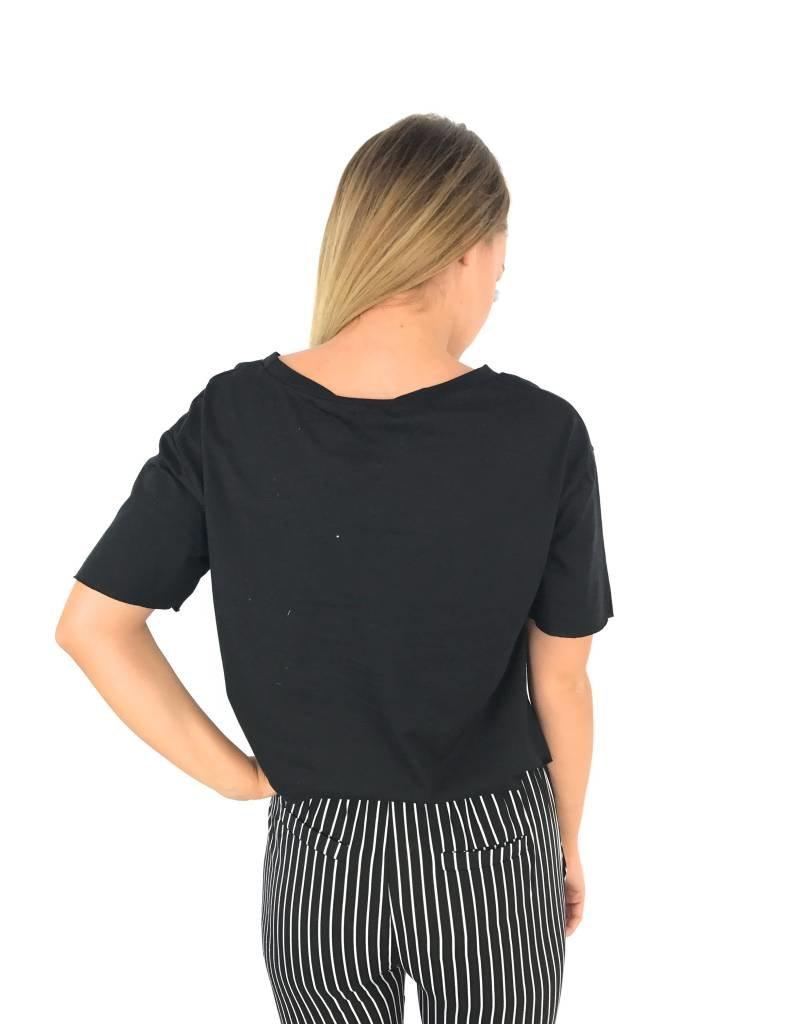 Black disobey t-shirt