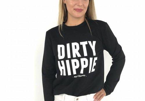 Sweater hippie black