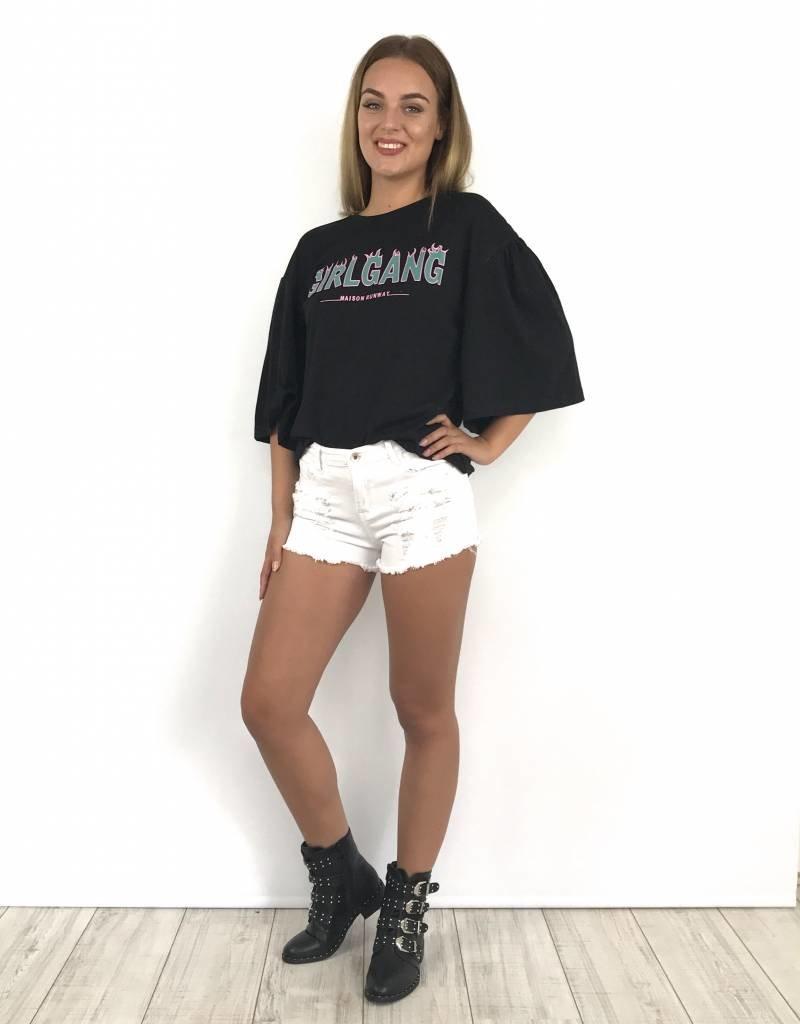 Top GirlGang black MR223-1
