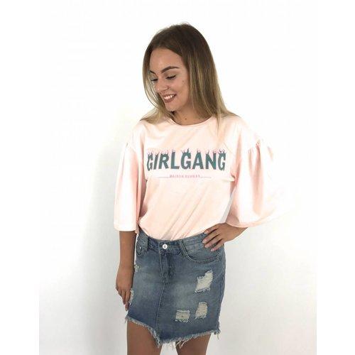 Maison Runway Top GirlGang pink