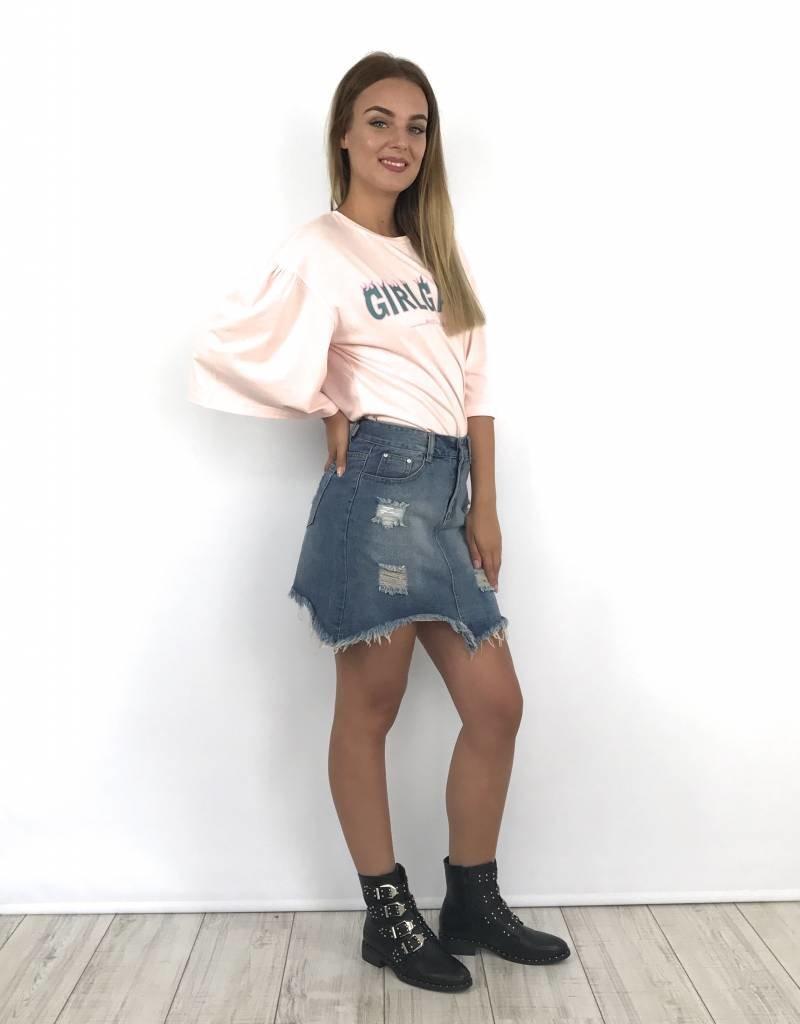 Top GirlGang pink MR223-1