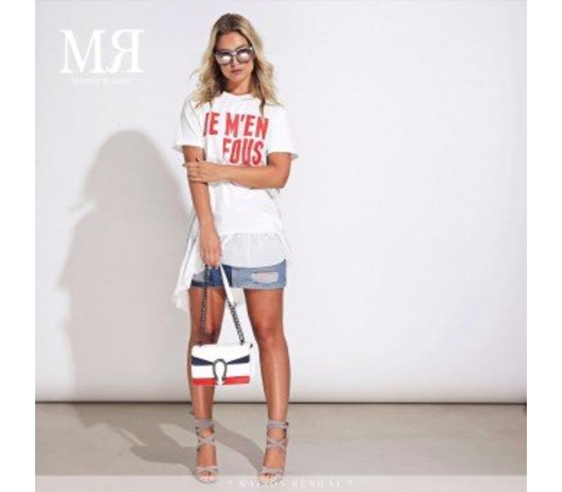 MR221 Top Sussy white