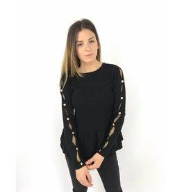 Cute black sweater