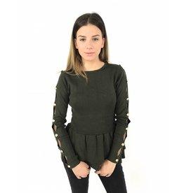 Cute green sweater