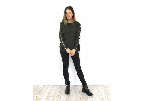 Dark grey skinny jeans high waist