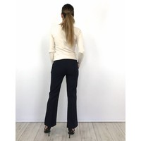 Blue office pants 2030