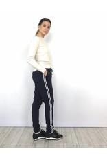 Blue striped pants HU898