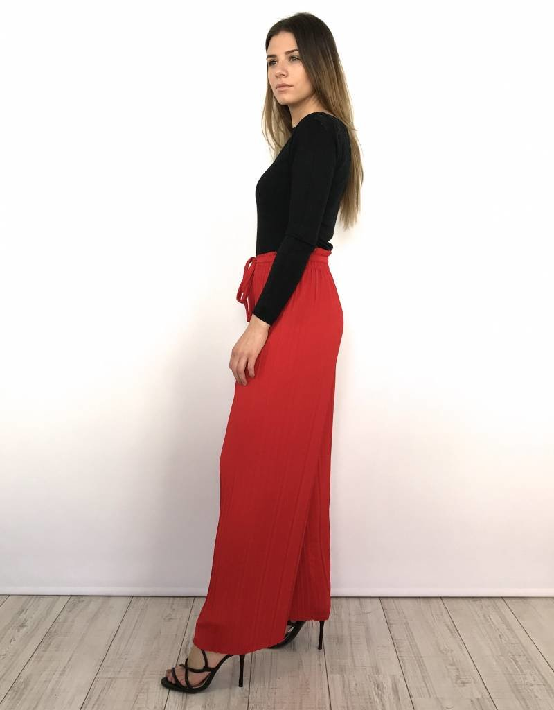 Red classy pants
