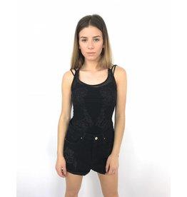 Black body lace