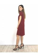 Red t-shirt dress 3056