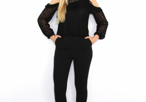 Vera & Lucy Black high waist pants