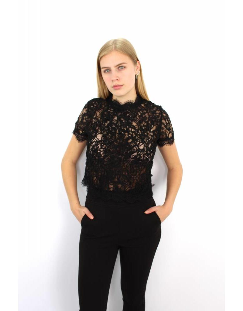 Black lovely top 11523