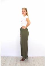 Green classy pants