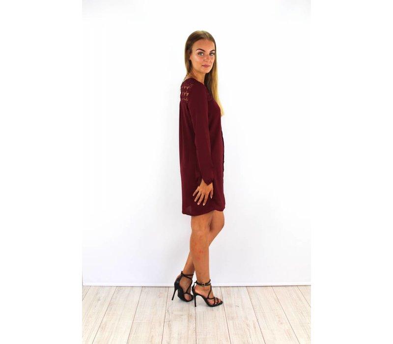 Bordeaux dress S014415