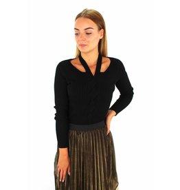 Black classy sweater
