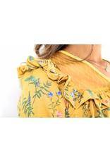 Yellow blouse 1749